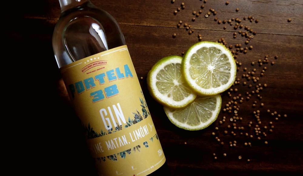 Gin Portela 38 Me Matan Limon