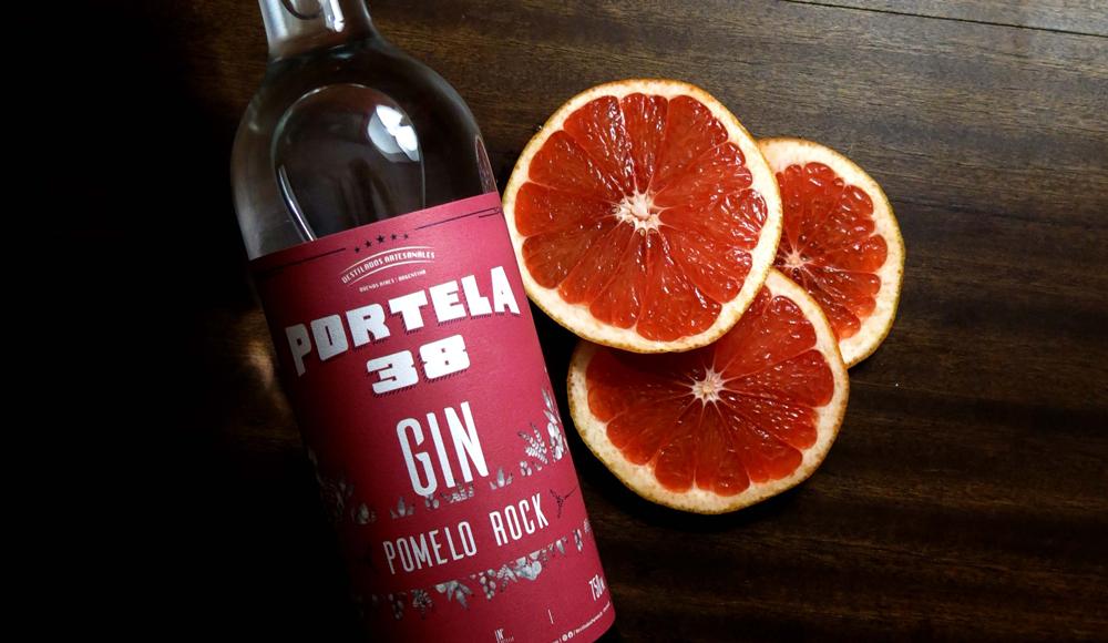 Gin Portela 38 Pomelo Rock